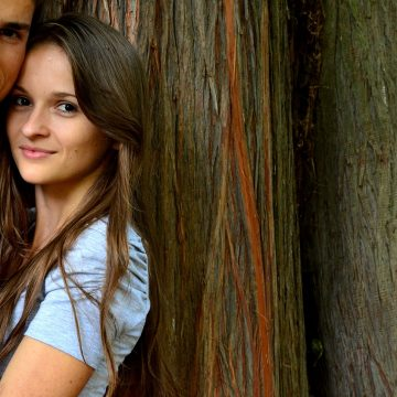 Young Couple, Fall In Love With, BackgroundYoung Couple Fall In Love With Background