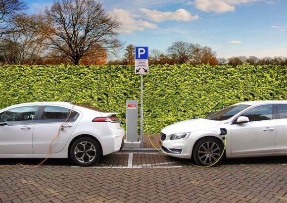 Electric Car Hybrid Car Charging Charging Post